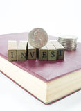 Investment concept stock images