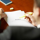 Investment definition composition Stock Image