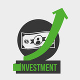 Investment design Stock Photography