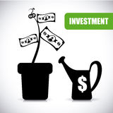 Investment design Stock Image