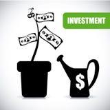 Investment design Stock Image