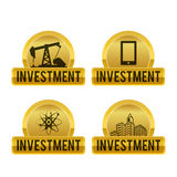 Investment design Royalty Free Stock Photo