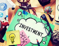 Investment Economy Financial Investing Income Concept Stock Images