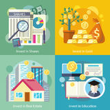 Investment in Education Gold Property Royalty Free Stock Photo