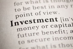 Investment Royalty Free Stock Images