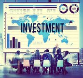 Investment Financial Banking Economy Income Concept Stock Images