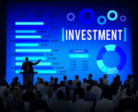 Investment Financial Money Accounting Economy Concept Stock Images