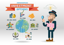 Investment. Flat design concepts for business, finance, strategic management Stock Photography