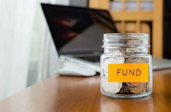 Investment fund saving plan Royalty Free Stock Photography