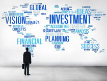 Investment Global Business Profit Banking Budget Concept Stock Photos