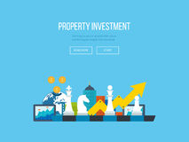 Investment growth. Strategy business. Investment. Stock Images