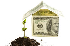Investment for house concept Royalty Free Stock Image