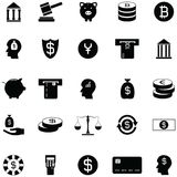 Investment icon set. The investment of icon set Stock Photos
