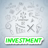 Investment Ideas Means Choices Creativity And Inventions Stock Image