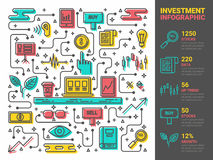 Investment Infographic Stock Photos