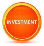 Investment Natural Orange Round Button stock illustration