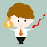 Investment man Stock Photos