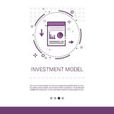 Investment Model Recoverable Lending Business Resources Web Banner With Copy Space. Vector Illustration Stock Photo