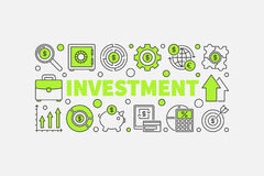 Investment and money illustration Stock Photo