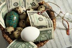 Investment nest egg Stock Image