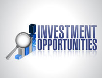 Investment opportunities. business concept Stock Photography