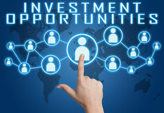 Investment Opportunities Royalty Free Stock Photo