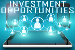 Investment Opportunities Royalty Free Stock Photography