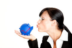 Investment pig Royalty Free Stock Photo