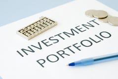 Investment Portfolio Stock Photography