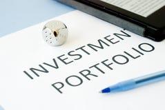 Investment portfolio Stock Photos