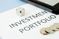 Investment portfolio Stock Photography