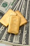 Investment in real gold than gold bullion and gold Stock Images