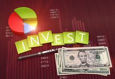 Investment report Royalty Free Stock Images