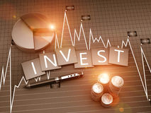 Investment report Stock Photo