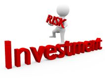 Investment Risk Royalty Free Stock Photography