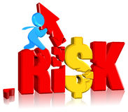 Investment risk. Business concept Three dimension style and high quality Stock Photo