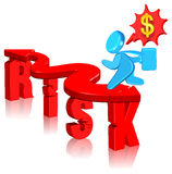 Investment risk. Business concept Three dimension style and high quality Stock Image