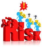 Investment risk Stock Images