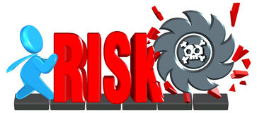 Investment risk. Three dimension style and High Quality Image Royalty Free Stock Images