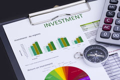 Investment Risk Management Royalty Free Stock Image