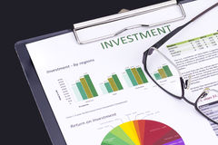 Investment Risk Management Royalty Free Stock Photography