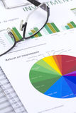 Investment Risk Management Stock Image