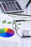 Investment Risk Management Stock Photo