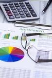 Investment Risk Management Stock Photo