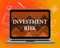 Investment Risk Means Portfolio Caution And Money Royalty Free Stock Photo