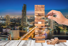 Investment risk and uncertainty in the real estate housing marke Stock Photos