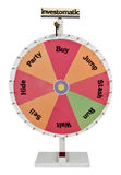 Investment Roulette Pin Wheel Stock Photos