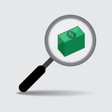 Investment Target for Business Concept, Vector Work Royalty Free Stock Photos