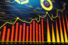 Investment and trade texture Stock Photo