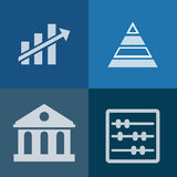 Investment vector icon Royalty Free Stock Photos